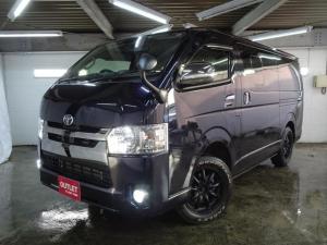 トヨタ ハイエースバン スーパーGL ダークプライム4WD アルパインナビ/Bカメラ