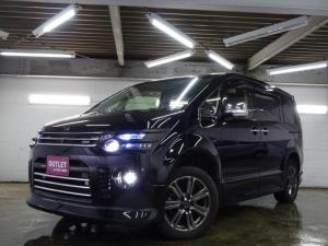 三菱 デリカD:5 D プレミアム 4WD RAYSアルミ/両側パワスラ/パワーバックドア/ロックフォードサウンド/寒冷地仕様/柿本マフラー/ROARフルエアロ/ROARグランドイルミ/LEDデイライト/アルカンターラ―シートカバー