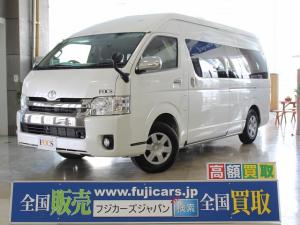 トヨタ ハイエースバン キャンピング  FOCS アリゼ 4WD FFヒーター