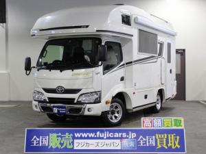 トヨタ カムロード キャンピング バンテック ジル 家庭用エアコン 4WD
