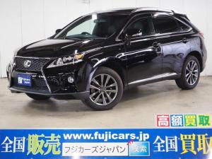 レクサス RX RX350 Fスポーツ 4WD 黒革 サンルーフ 九州仕入
