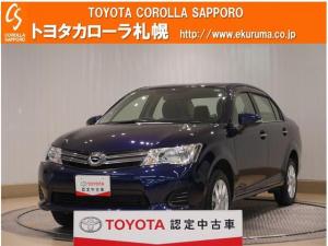 トヨタ カローラアクシオ 1.5G 4WD・1オーナー・寒冷地仕様