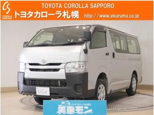 トヨタ ハイエースバン ロングDX 4WD キーレス・ETC付
