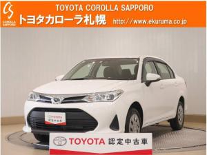 トヨタ カローラアクシオ EX 4WD トヨタセーフティセンス・メモリーナビ・ETC・スマートキー付
