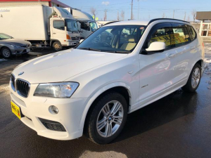 BMW X3 xDrive 20i Mスポーツパッケージ 4WD/純正HDDナビ/バックカメラ/フルセグTV/パワーバックドア
