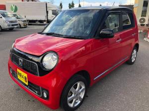 ホンダ N-ONE プレミアム 4WD/キーレス/スパイクタイヤAW/赤黒ツートンカラー