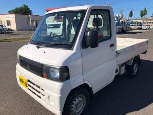 三菱 ミニキャブトラック Vタイプ エアコン付き/パワステ/4WD/車検令和5年5月迄