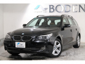 BMW BMW 530xiツーリング4WD後期型SR純ナビ左H黒革