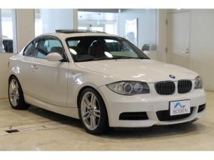 BMW 1シリーズ 135i赤革6MT直6ターボSR純正ナビETC純正18AW