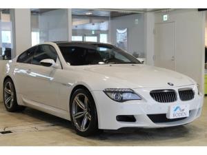 BMW M6 ベースグレード 地デジETC純正ナビ純正19AW黒革カーボンルーフ