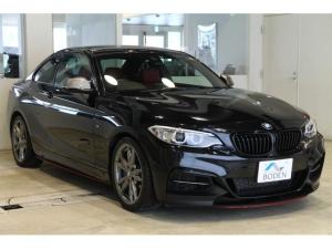BMW 2シリーズ M235iクーペ 純正18AW純正ナビBカメラ赤革ETC黒グリルフロントリップ