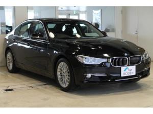 BMW 3シリーズ 320i xDrive ラグジュアリー 黒革BカメラミラーETC純正17AW純正ナビFシートヒーター