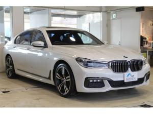 BMW 7シリーズ 740d xDrive Mスポーツ リアエンターテイメントシステムSR地デジ全周囲カメラACCシートヒーター