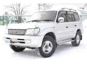 トヨタ ランドクルーザープラド TX 4WDディーゼルターボ ウインチ 寒冷地仕様 夏冬タイヤ