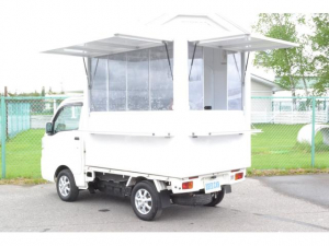 ダイハツ ハイゼットトラック  4WD キッチンカー 移動販売車 加工車登録