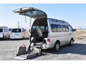 日産 キャラバンバス  チェアキャブ 3.0 4WD M仕様 ディーゼル 車椅子2基積