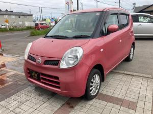 日産 モコ E FOUR 4WD ナビ ピンク AT AC AW 4名乗り