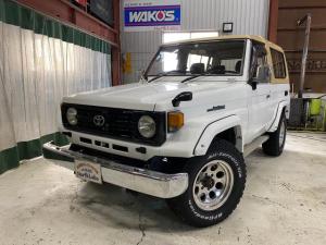 トヨタ ランドクルーザー70 ZX FRPトップ 4WD オートマチック ベージュトップ サスペンションシート 自社ユーザー様買取車両