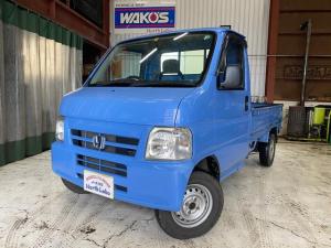 ホンダ アクティトラック  4WD 5速マニュアル スタッドレス付き 車検令和4年7月まで