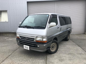 トヨタ ハイエースバン ロングスーパーGL☆月々32000円でリースOK!