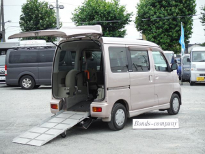 ダイハツ アトレーワゴン スローパー福祉車両車椅子移動車AT・4WD