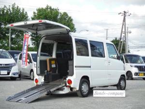 三菱 ミニキャブバン CD ハーティーラン・AT・4WD・車椅子福祉車両スロープ・リアヒーター