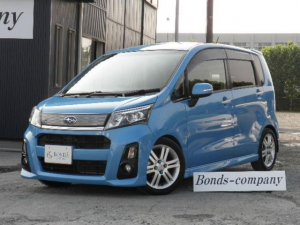 スバル ステラ カスタムRS 4WD・モモステアリング・ローダウン(車高調)・本州使用車・インタークーラーターボ