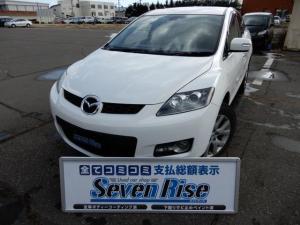マツダ CX-7 ベースグレード 保証付 4WD ワンオーナー 事故無 ナビ
