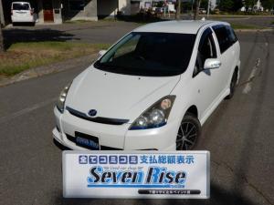 トヨタ ウィッシュ X Sパッケージ 4WD 保証付 事故無 Tチェーン ナビ