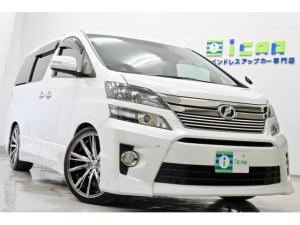トヨタ ヴェルファイア 2.4Z ゴールデンアイズII 新品タイヤ/新品20AW