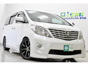 トヨタ アルファード 350S プライムセレクション HDDナビ 後席モニター Pバックドア 新品サス19AW