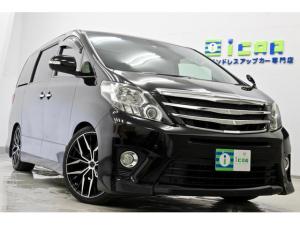 トヨタ アルファードハイブリッド SR Cパッケージ ワンオナ サンルーフ 黒革 新品タイヤ 新品20AW