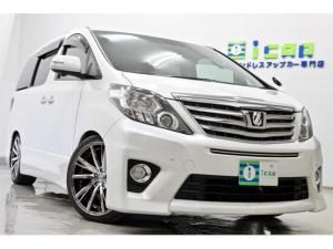 トヨタ アルファード 350S Cパッケージ SDナビ 後席モニター新品サス 新品タイヤ/新品20AW