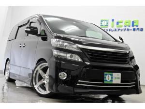 トヨタ ヴェルファイア 2.4Z Gエディション プレミアム18SPリヤエンタ 新品サス/タイヤ/20AW
