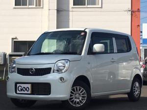 日産 モコ S FOUR 4WD 社外HDDナビ ワンセグ エンスタ