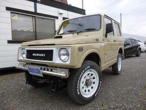 スズキ ジムニー  4WD オートマ ベージュIIトーンカラー ルーフパールホワイト塗装 リフトUP