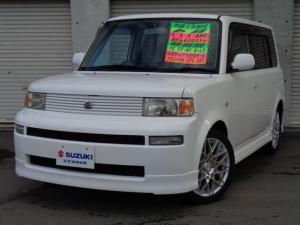 トヨタ bB S 4WD DVDナビ CD・MD 17AW ETC キーレス ABS LEDテールランプ 電動格納ミラー ベンチシート ドアバイザー