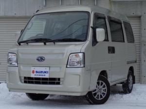 スバル サンバーバン ディアス 5MT 4WD CDコンポ 12AW リアヒーター 切替式4WD Wエアバッグ オーバーヘッドコンソール ハイルーフ パワーウィンドウ AC ドアバイザー リアスモーク ABS