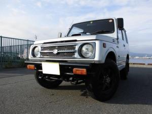スズキ ジムニー ランドベンチャー AT 4WD ターボ 社外マフラー タンクガード 純正足回り パワステ エアコン オーディオ ユーザー買取車