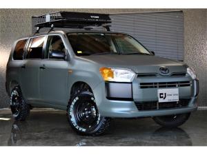 トヨタ サクシード TX 4WD マッドカーキ 新品リフトアップキット 新品ブロックタイヤ 純正ナビ 全席PW バックカメラ フルセグ
