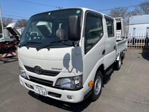 トヨタ ダイナトラック  Wキャブ6人乗り 1t積載 4WD平ボデー 登録済未使用車