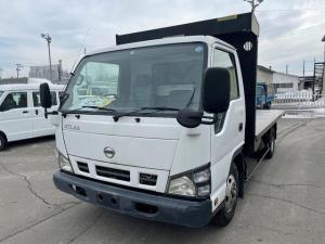 日産 アトラストラック  3tワイドファームダンプ 極東開発新品架装 4.1m長