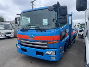 UDトラックス コンドル  4t ワイド 3段クレーン ラジコン フックイン 5.5m荷台長