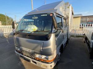 三菱ふそう キャンター Wキャブ 4WD 公共応急作業車 エアコン FD501B