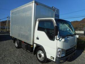 いすゞ エルフトラック ベースグレード 4WD ICターボディーゼル アルミバン 1.5t  バックモニター付