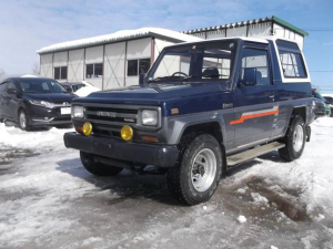 ダイハツ ラガー ターボ EX 4WD 5速マニュアル ディーゼルターボ