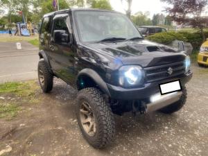 スズキ ジムニー ワイルドウインド 4WD  5速マニュアル ターボ