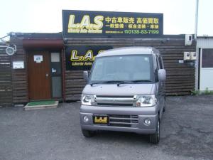 三菱 タウンボックス LX エクシードパッケージ 4WD 福祉車両 安全装備