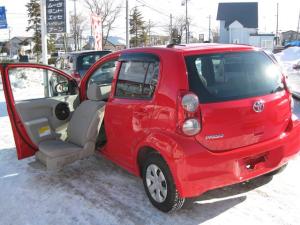 トヨタ パッソ X 福祉車両 Aタイプ助手席リフトアップシート車 グー鑑定書付 4WD