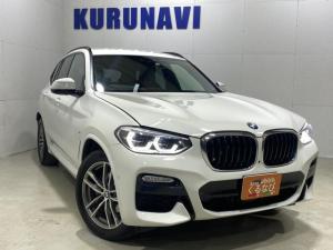 BMW X3 xDrive 20d Mスポーツ ワンオーナー 禁煙車 HDDナビ フルセグTV Bluetooth USB ドライブレコーダー 冬季未使用 全周囲カメラ クルコン LEDヘッドライト 両席電動シート キックセンサー付きリアゲート